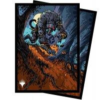 Sleeves Innistrad: Midnight Hunt: Moonrage Brute (100 pieces)