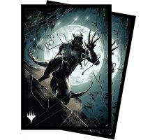Sleeves Innistrad: Midnight Hunt: Seafaring Werewolf (100 pieces)