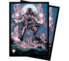 Sleeves Innistrad: Midnight Hunt: Storm-Charged Slasher (100 pieces)