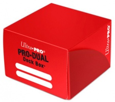 Deckbox Pro Dual Red (top loading)