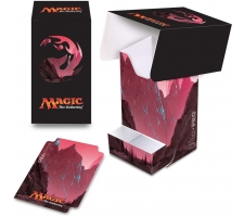 Deckbox with Tray Mana Red: Mountain