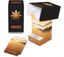 Deckbox with Tray Mana White: Plains