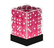 Dice Set D6 Opaque Pink (36 stuks)
