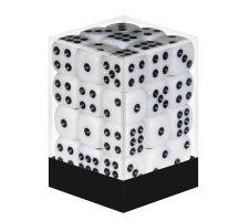 Dice Set D6 Opaque White (36 stuks)
