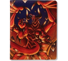 Dragon Shield Card Codex 360 Pocket Portfolio Red: Rendshear