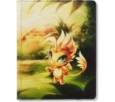 Dragon Shield Card Codex 360 Pocket Portfolio Yellow: Dorna