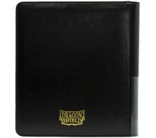Dragon Shield Card Codex 160 Pocket Zipster Portfolio Black