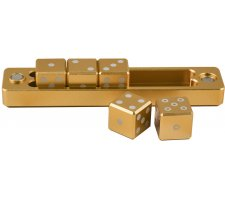 Dice Set D6 Gravity Dice: Gold (5 pieces)