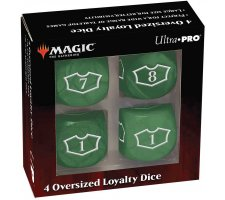 Oversized Loyalty Dice Set: Forest (4 pieces)