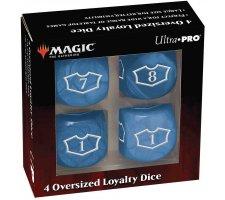 Oversized Loyalty Dice Set: Island (4 pieces)