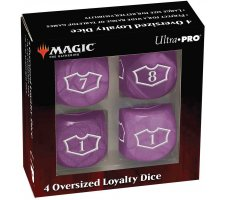 Oversized Loyalty Dice Set: Swamp (4 pieces)