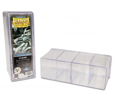 Dragon Shield Gaming Box 4 Compartments Clear