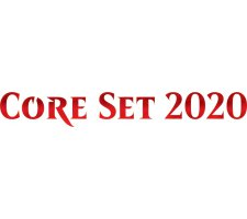 Complete set Core Set 2020 Commons