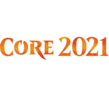 Complete set of Core Set 2021 (excl. Mythics)