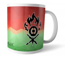 Mug Magic Fractal Ravnica: Gruul Clans