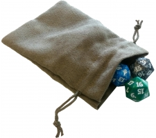 Dice Bag Rat Skin