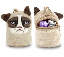 Plush Dice Pouch Grumpy Cat