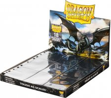 Dragon Shield 18 Pocket Pages Side Loading Black (50 stuks)