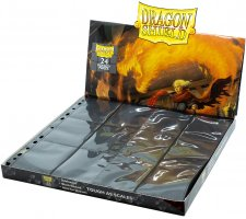 Dragon Shield 24 Pocket Pages Side Loading Black (50 pieces)