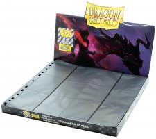 Dragon Shield 24 Pocket Pages Side Loading Black Non-Glare (50 pieces)