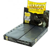 Dragon Shield 8 Pocket Pages Side Loading Black Non-Glare (50 pieces)