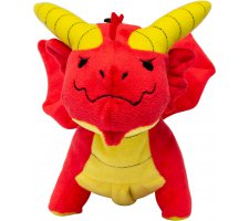 Plush Dice Pouch Red Dragon