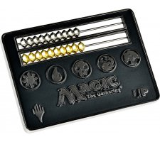 Card Size Abacus Life Counter - Magic: the Gathering: Black