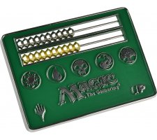 Card Size Abacus Life Counter - Magic: the Gathering: Green