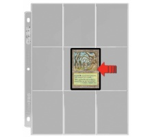 9 Pocket Pages Side Loading Clear (100 pieces)