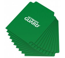 Ultimate Guard Card Dividers: Green (10 pieces)