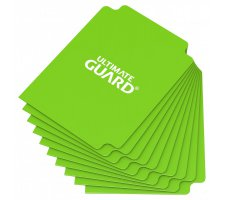 Ultimate Guard Card Dividers: Light Green (10 pieces)