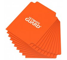 Ultimate Guard Card Dividers: Orange (10 pieces)