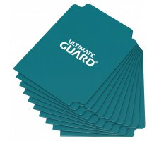 Ultimate Guard Card Dividers: Petrol Blue (10 pieces)