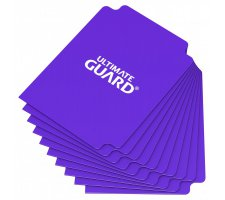 Ultimate Guard Card Dividers: Purple (10 stuks)