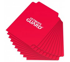 Ultimate Guard Card Dividers: Red (10 stuks)