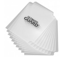 Ultimate Guard Card Dividers: Transparent (10 pieces)