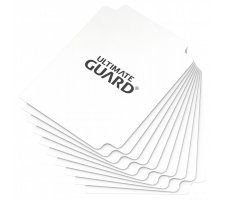 Ultimate Guard Card Dividers: White (10 pieces)