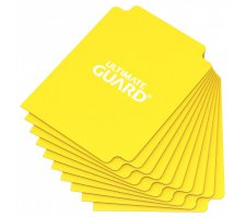 Ultimate Guard Card Dividers: Yellow (10 stuks)