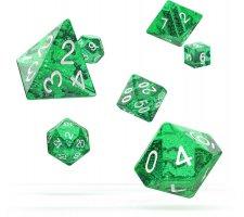 Oakie Doakie Dice Set RPG Speckled: Green (7 pieces)