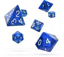 Oakie Doakie Dice Set RPG Speckled: Blue (7 pieces)