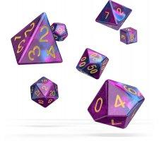 Oakie Doakie Dice Set RPG Gemidice: Amethyst (7 pieces)