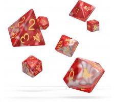 Oakie Doakie Dice Set RPG Gemidice: Red Sky (7 pieces)