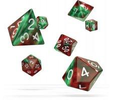Oakie Doakie Dice Set RPG Gemidice: Bloody Jungle (7 pieces)