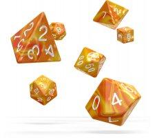 Oakie Doakie Dice Set RPG Gemidice: Sunstone (7 pieces)