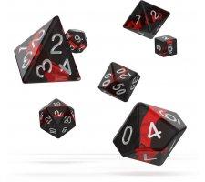 Oakie Doakie Dice Set RPG Enclave: Ruby (7 pieces)