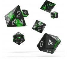 Oakie Doakie Dice Set RPG Enclave: Emerald (7 pieces)