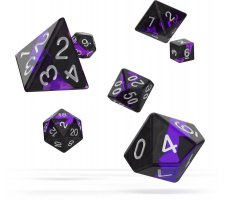 Oakie Doakie Dice Set RPG Enclave: Amethyst (7 pieces)