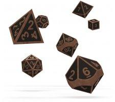 Oakie Doakie Dice Set RPG Metal: Steampunk (7 pieces)