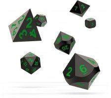 Oakie Doakie Dice Set RPG Metal: Matrix (7 pieces)