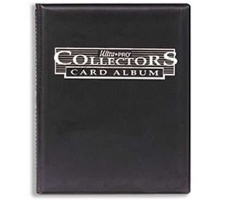 9 Pocket Portfolio Collectors Black